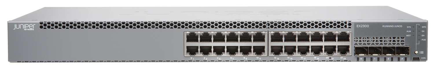 JUNIPER: EX2300 ETHERNET SWITCHES
