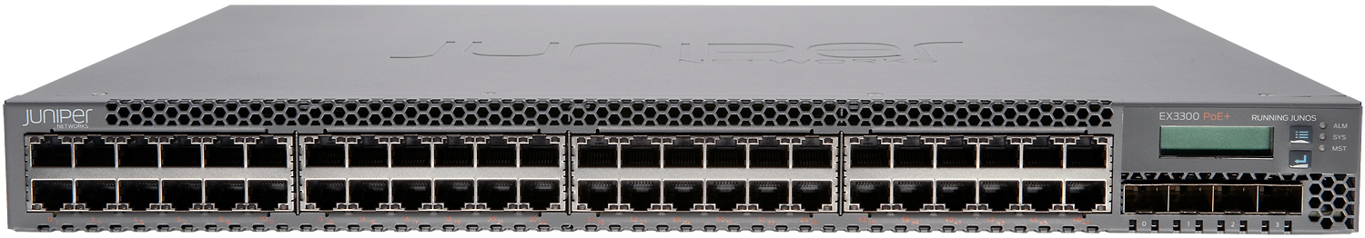JUNIPER: EX3300 ETHERNET SWITCHES