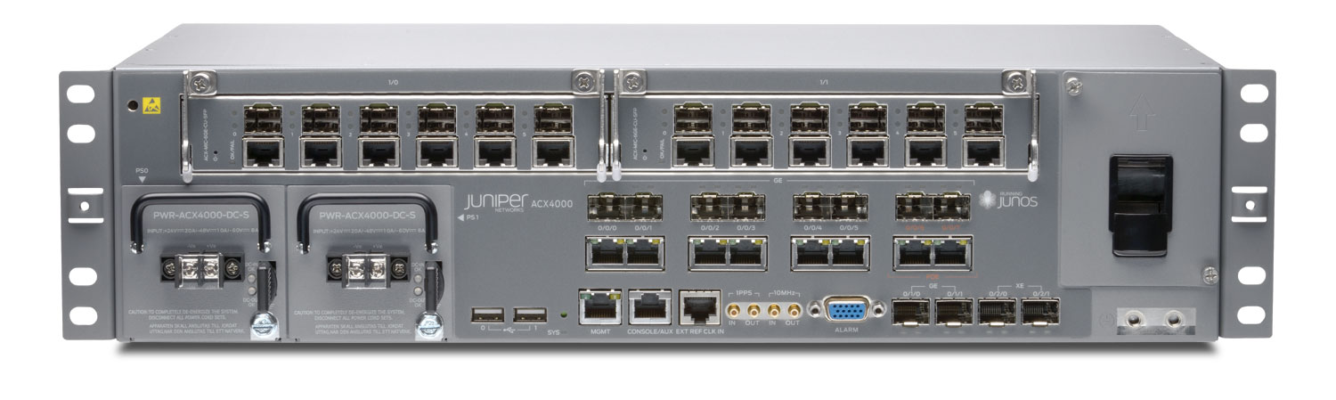 JUNIPER: ACX4000 IS A COOLED ACCESS ROUTE