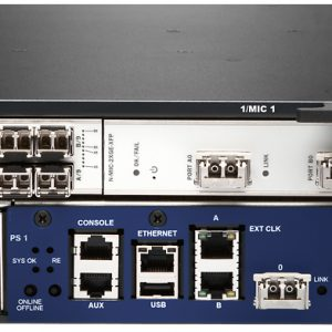 JUNIPER: MX80 3D UNIVERSAL EDGE ROUTER