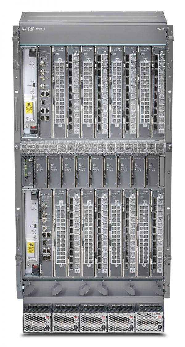 JUNIPER: PTX3000 IS A DENSE, ULTRA-COMPACT 8-TBPS CORE ROUTER
